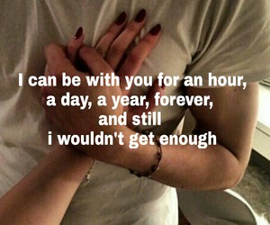 forever, love, and qoutes image
