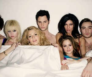 gossip girl, new york, and tv show image
