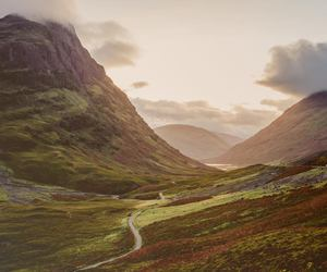 autumn, colors, and highlands image