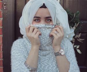 girls, hijab, and محجبات image