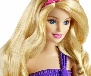barbie, doll, and hairstyle image