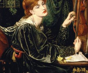 art, Dante Gabriel Rossetti, and painting image