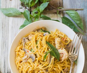 delicious, noodles, and recipe image