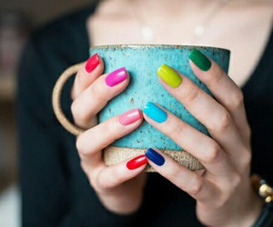 beautiful, colors, and nails image