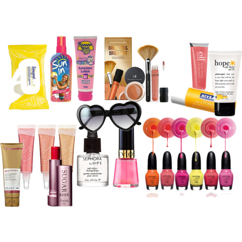 beach, beauty, and cosmetics image