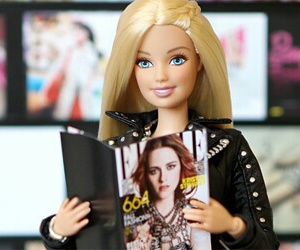 barbie, reading, and beautiful image