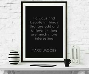 frame, marc jacobs, and quotes image