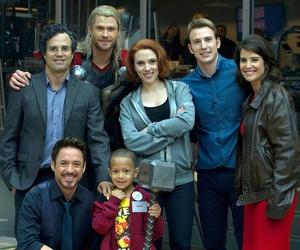 Marvel, Avengers, and Scarlett Johansson image