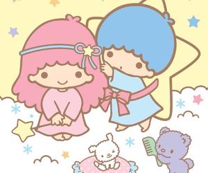 sanrio, little twin stars, and kiki and lala image