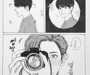 exo, chanbaek, and baekhyun image