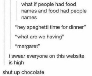 tumblr, food, and funny image