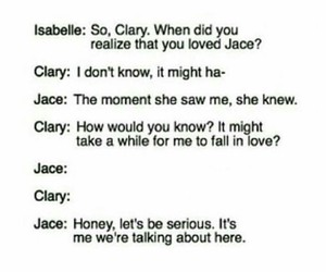 funny, jace, and clary image