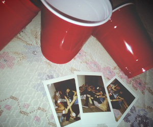 drink, party, and vans image