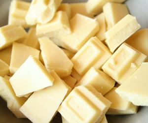 food, chocolate, and white chocolate image
