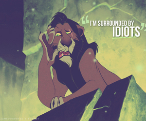 idiot, disney, and scars image