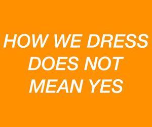 aesthetic, orange, and feminism image