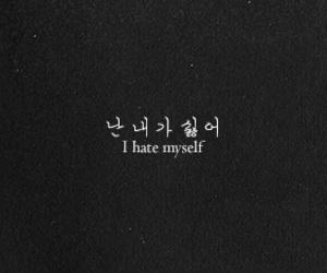 korean and i hate myself image