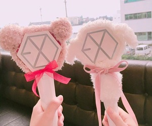 exo, lightstick, and goals image