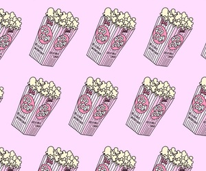 pattern, patterns, and popcorn image