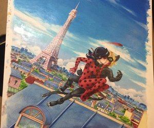 ladybug, miraculous, and marinette image