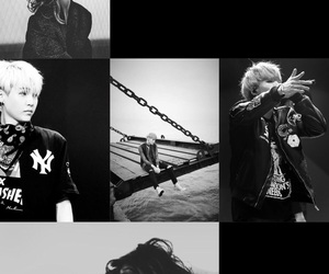 black, Collage, and bts image