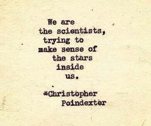 quote, stars, and christopher poindexter image