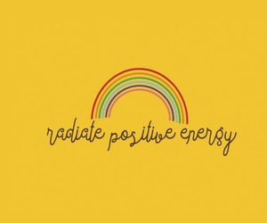 yellow, rainbow, and positive image