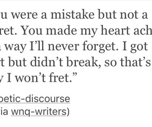 breakup, heartache, and him image