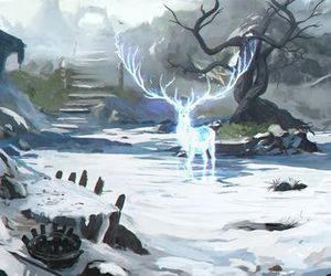 stag, brannon, and king of the north image