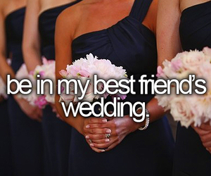 wedding, best friends, and friends image