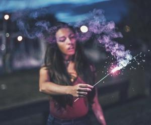 light, fireworks, and tumblr image