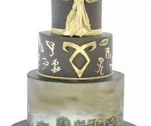 tmi, cake, and clockwork angel image