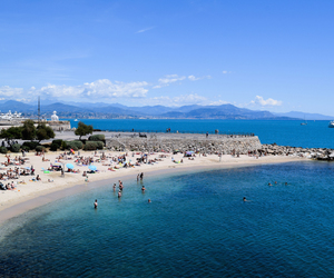 coffee, travel, and antibes image