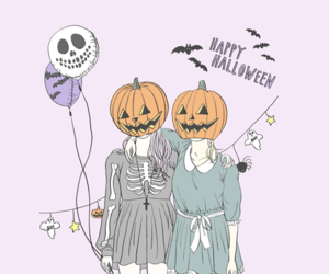 Halloween, pumpkin, and october image