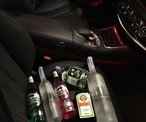 alcohol, car, and party image