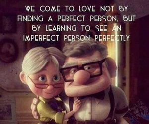 love, quotes, and up image