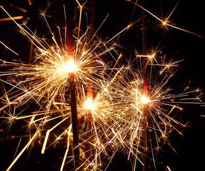 fireworks, light, and awesome image