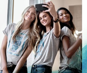 Chanel Iman, taylor hill, and romee strijd image