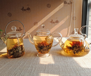 tea, vintage, and flowers image