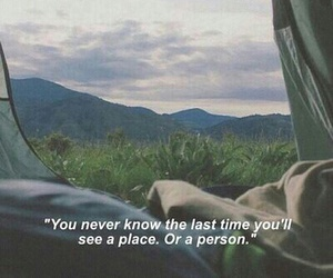 quotes, sad, and place image