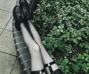goth and black image