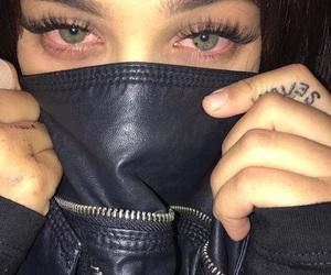 eyes, black, and tattoo image