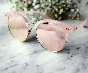 sunglasses, pink, and accessories image