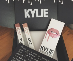 lips, makeup, and kyliejenner image