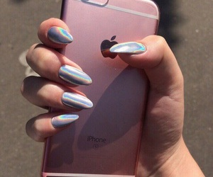 cool, iphone, and nail art image
