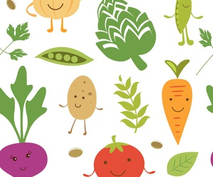 background, carrot, and pattern image