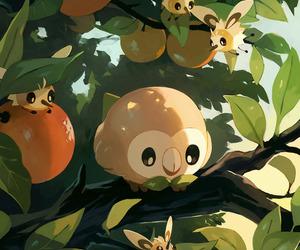 pokemon, rowlet, and cutiefly image
