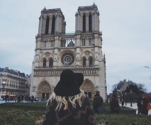 blonde, paris, and travel image