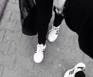 adidas, pale, and white image