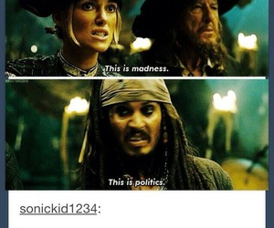 funny, jack sparrow, and politics image